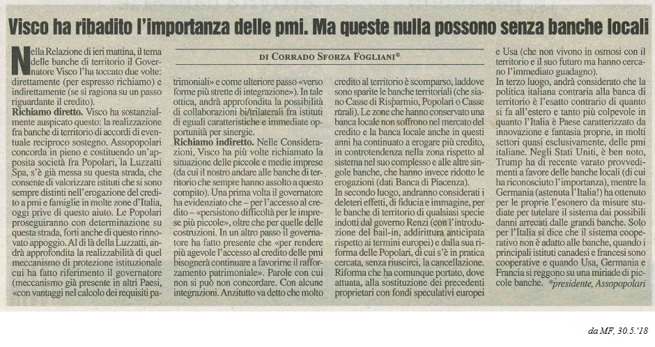 Visco importanza PMI